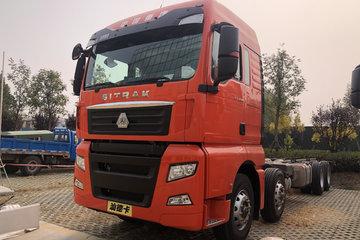 中国重汽 汕德卡SITRAK G7重卡 480马力 8X4 9.52米仓栅式载货车