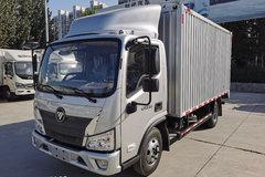 福田 时代领航5 131马力 4.14米单排厢式轻卡(采埃孚5挡)(BJ5043XXY-DH) 卡车图片