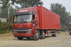 陕汽商用车 轩德翼6重卡 速运版 240马力 6X2 9.6米厢式载货车(SX5254XXYGP52) 卡车图片