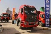 中国重汽 豪瀚N5G中卡 轻奢版 240马力 4X2 6.75米栏板载货车(ZZ1185K5113E1)