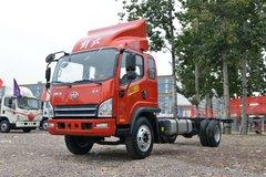 解放 虎VH 190马力 5.4米排半仓栅式轻卡(CA5140CCYP40K62L5E5A85) 卡车图片
