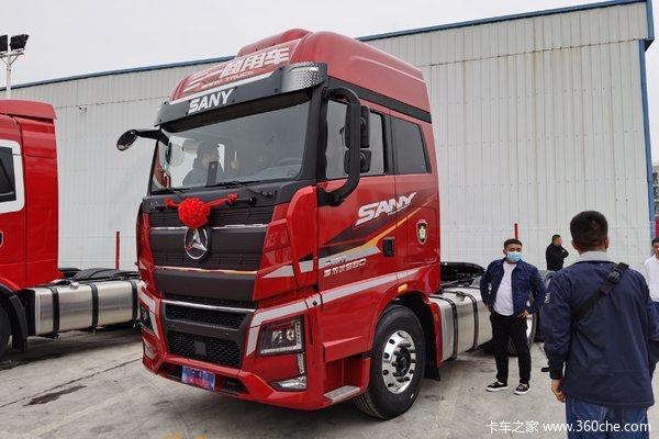 优惠1万宁波三一重卡新款牵引车28.8万