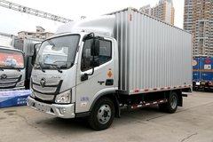 福田 欧马可S1系 131马力 4.14米单排厢式轻卡(万里扬)(BJ5048XXY-F3) 卡车图片