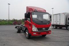 现代商用车 泓图300 130马力 4.18米单排仓栅式轻卡(CNJ5041CCYZDB33V) 卡车图片