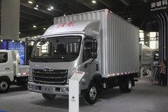 福田 时代领航6 150马力 4.165米单排厢式轻卡(国六) 卡车图片