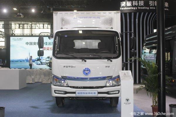 福田 智蓝 4.5T 4.14米单排纯电动厢式轻卡