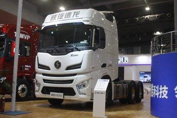陕汽重卡 德龙X6000 600马力 6X4 AMT自动挡牵引车
