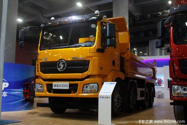 陕汽重卡 德龙新M3000 城建标准版 350马力 8X4 5.8米自卸车(SX3310MB246)