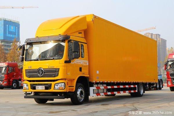 陕汽重卡 德龙L3000 标载版 300马力 6X2 7.9米翼开启厢式载货车(SX5250XYKLA9)