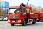 陕汽重卡 德龙L3000 复合版 350力 4X2 5.8米随车吊(国六)(SX5189JSQLA511)