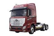 现代商用车 新一代创虎重卡 460马力 6X4 LNG牵引车(国六)