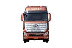 现代商用车 新一代创虎重卡 460马力 6X4牵引车(国六) 卡车图片