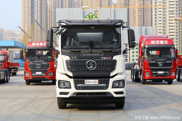 陕汽重卡 德龙M3000S 350马力 8X4 运油车(国六)