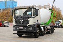 陕汽重卡 德龙M3000S 340马力 8X4 混凝土搅拌运输车(凌宇牌)(CLY5314GJB30E55) 卡车图片