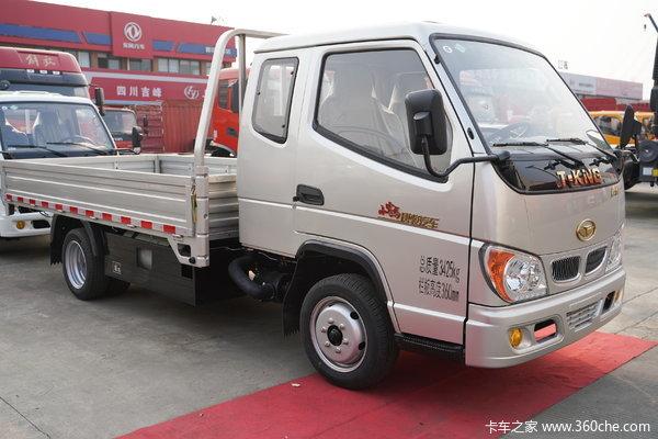 优惠0.5万鑫佰福唐骏小宝马载货车促销
