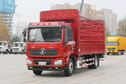 陕汽重卡 德龙L3000 240马力 4X2 6.8米仓栅式载货车(后桥8.7T)(国六)(SX5189CCYLA501F2)