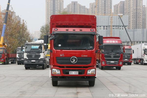 陕汽重卡 德龙L3000 标载版 300马力 6X2 9.7米仓栅式载货车(SX5250CCYLA9)