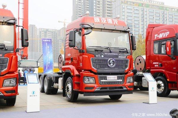 回馈客户德龙M3000S牵引车仅售40.20万