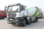 陕汽重卡 德龙M3000S 复合版 350力 8X4 7.85方混凝土搅拌车(U型后处理发动机)(国六)(SX5319GJBMB3063)