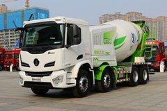陕汽重卡 德龙M6000 350马力 8X4 混凝土搅拌车(SX5319GJBKR306) 卡车图片
