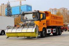 陕汽重卡 德龙X3000 375马力 6X4 除雪车(国六)