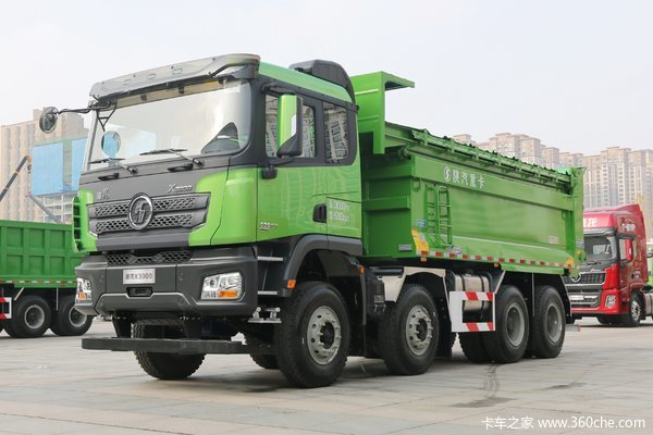 陕汽重卡 德龙X3000 西南版 460马力 8X4 7.6米自卸车(SX3310XC61B)
