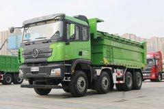 陕汽重卡 德龙X3000 城建标准版 400马力 8X4 5.6米自卸车(国六)(SX33195C276) 卡车图片