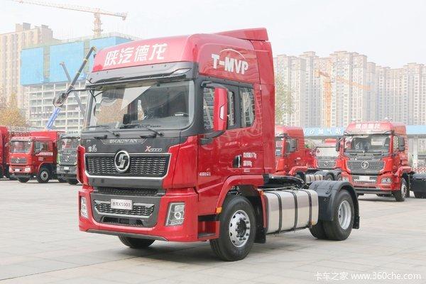 陕汽重卡 德龙X5000 超值版 490马力 4X2 牵引车(国六)(SX4189XD1Q1)