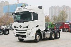 陕汽重卡 德龙X6000 490马力 6X4 AMT自动挡危险品牵引车(国六)(SX4259YY334C) 卡车图片