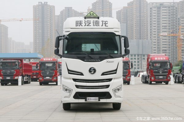 陕汽重卡 德龙X6000 菁英版 560马力 6X4牵引车