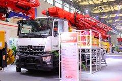奔驰 435马力 8X4 混凝土泵车(三一牌)(SYM5442THBEB)
