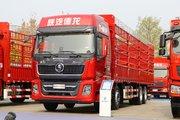 陕汽重卡 德龙X5000 460马力 8X4 9.5米仓栅式载货车(国六)