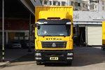中国重汽 汕德卡SITRAK G5重卡 245马力 4X2 9.6米厢式载货车(国六)(ZZ5186XXYN711GF1)图片