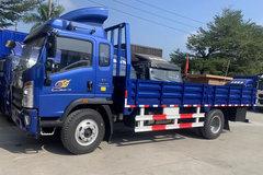中国重汽HOWO 王系 190马力 5.75米排半栏板轻卡(国六)(ZZ1167H4515F1) 卡车图片