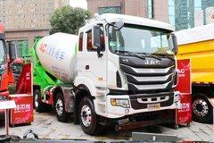 江淮 格尔发K5W 350马力 8X4 8方混凝土搅拌车(HFC5311GJBP1K5H27S) 卡车图片