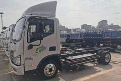 福田 时代领航 4.5T 4.14米纯电动厢式载货车(BJ5045XXYEV10)81.14kWh
