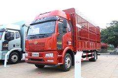一汽解放 J6L中卡 2021款 领航版 240马力 4X2 6.8米仓栅式载货车(CA5180CCYP62K1L4E5) 卡车图片
