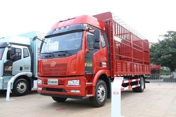 一汽解放 J6L中卡 2021款 领航版 240马力 4X2 6.8米仓栅式载货车