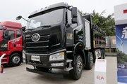一汽解放 J6P 8X4 5.8米排半纯电动自卸车(CA3310P66N142L4T4BEV)423kWh