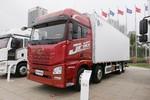 青島解放 JH6 460馬力 8X4 9.4米自動擋冷藏車(CA5320XLCP25K2L7T4E5A80)圖片