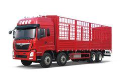 中国重汽 重载版 豪曼H5重卡 340马力 8X4 9.6米仓栅式载货车(ZZ5318CCYM60EB0) 卡车图片