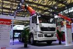 陕汽重卡 德龙新M3000 400马力 6X4 随车式起重牵引车(三一帕尔菲格牌)(SX4259JQQMC4Z1)图片