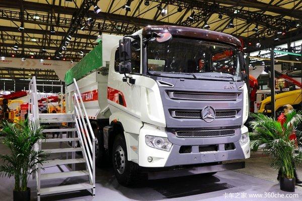 三一集团 复合版 380马力 8X4 5.6米自卸车