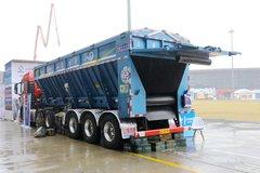 吉鲁恒驰 V型智能输送带 8.5米散装粮食运输半挂车