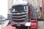 江淮 格尔发A5W重卡 490马力 8X4 9.4米 AMT自动挡仓栅式载货车(HFC5311CCYP1K5H45CS)