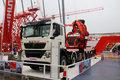 中国重汽 HOWO TX7重卡 440马力 10X4 随车起重机(宏昌天马牌)(K2280)