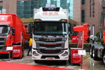 江淮 格尔发A5XⅢ 245马力 4X2 6.8米冷藏车(国六)(HFC5181XLCP2K3A57S)图片