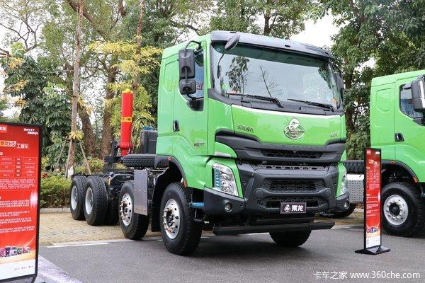 东风柳汽乘龙自卸车乘龙H7在自卸车进行优惠促销活动