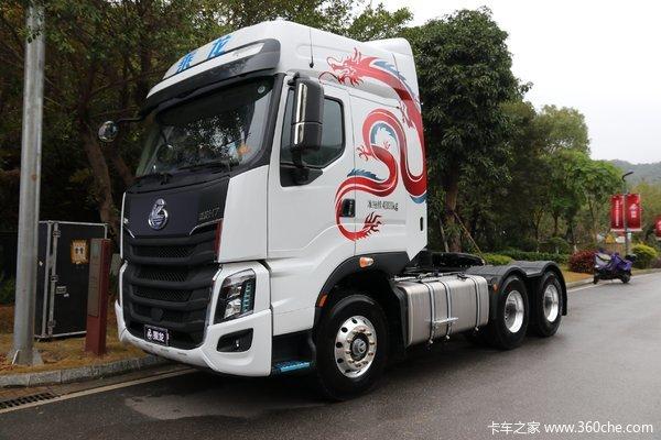 东风柳汽 乘龙H7重卡 3.0版 500马力 6X4 AMT自动挡牵引车(LZ4253H7DB)