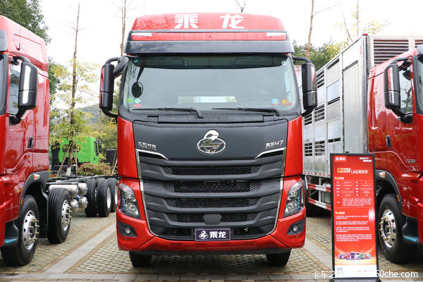 东风柳汽 乘龙H7重卡 3.0版 460马力 8X4 9.47米AMT自动挡厢式载货车(国六)(LZ5321XXYH7FC1)